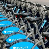 Dockless bikes